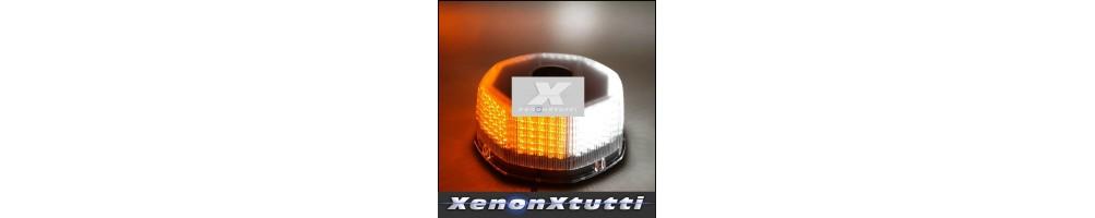 LAMPEGGIANTE MEZZI SOCCORSO LED O XENON STROBO