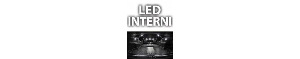 Kit LED interni Renault Clio iv 4 dal 2014 in poi luci plafoniere baga