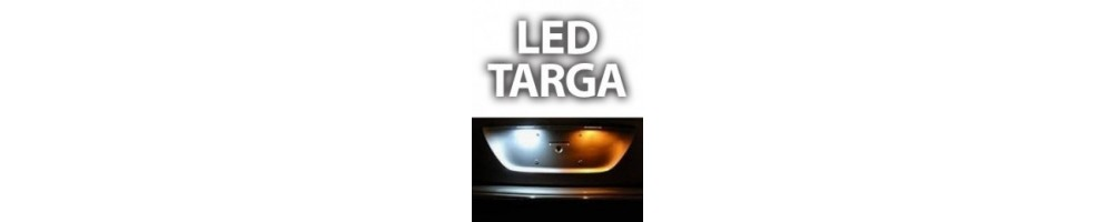 Kit LED targa Renault Clio iv 4 dal 2014 in poi luci plafoniere bianch