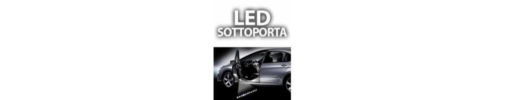 Lampade Luci Led Sottoporta Logo Fiat 500X