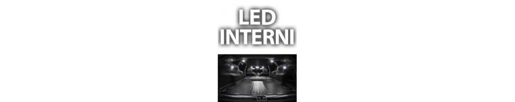 Kit LED luci interne Fiat Doblò II plafoniere anteriori posteriori