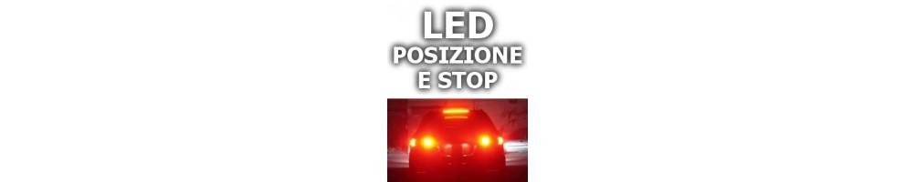 LED luci posizione anteriore e stop FIAT 500