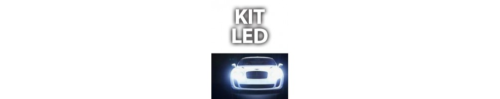 Kit LED luci anabbaglianti abbaglianti e fendinebbia FIAT QUBO