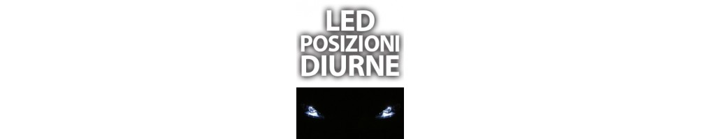 LED luci posizione posteriore o diurno FIAT PANDA II