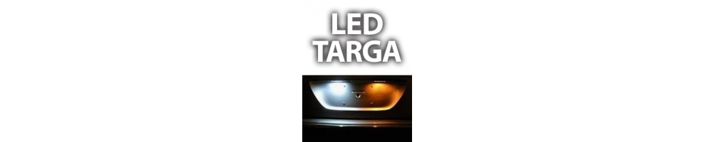 LED luci targa ABARTH GRANDE PUNTO plafoniere complete canbus