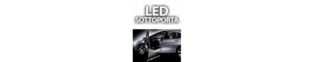 LED luci logo sottoporta ABARTH GRANDE PUNTO