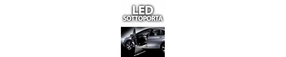 LED luci logo sottoporta AUDI A4 (B8) DAL 2008 AL 2015
