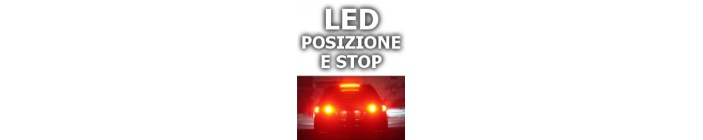 LED luci posizione anteriore e stop BMW SERIE 6 (E63,E64)