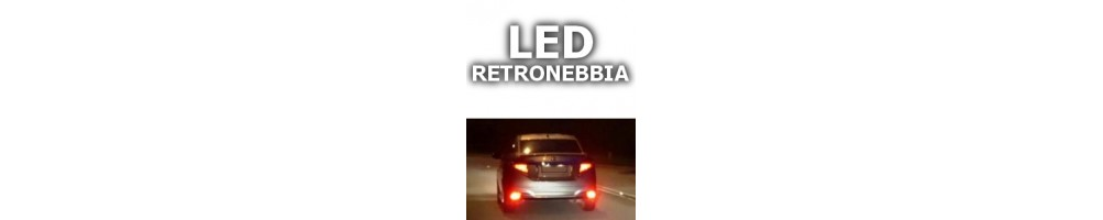 LED luci retronebbia BMW X6 (F16)