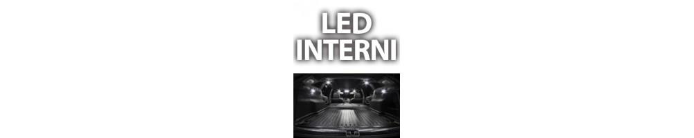 Kit LED luci interne DACIA SANDERO I plafoniere anteriori posteriori
