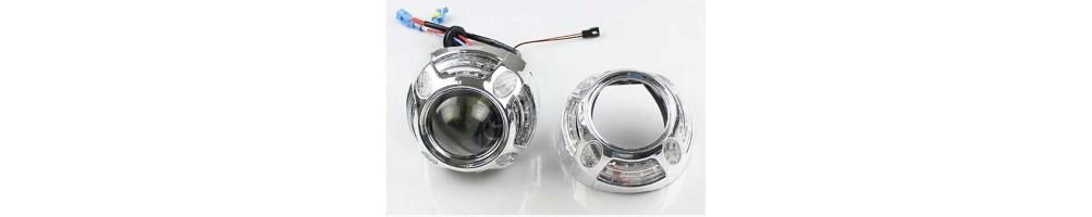 Cover coperture per Preiettori Lenticolari Mini H1 Retrofit 2,5 e 3 pollici.
