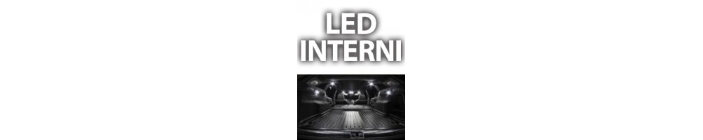 Kit LED luci interne CHRYSLER CROSSFIRE plafoniere anteriori posteriori