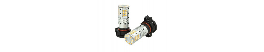 LED PSY24W PSX24W PY24W Lampade completamente a led canbus plug&play