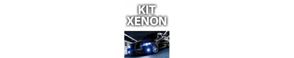 Kit Xenon luci anabbaglianti abbaglianti e fendinebbia FORD FIESTA (MK4)