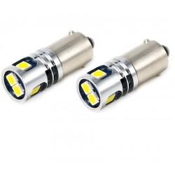 LED BA9S BAX9S H6W T4W