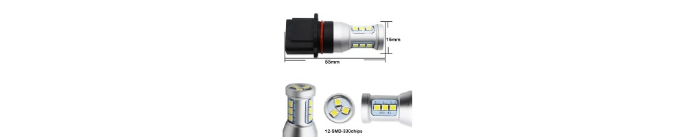 LED PSX26W P13W LUCI LAMPADA DIURNE AUDI VOLKSWAGEN
