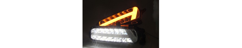 Daytime Running Lights Led Drl Luci Diurne Canbus per Auto Moto Camion