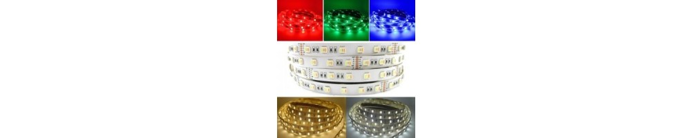 STRIP LED BIACO NATURALE CALDO RGB
