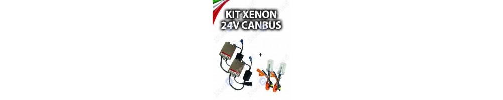 KIT XENON 24V PER CAMION 55w specifico per mezzi a 24v camion trattori
