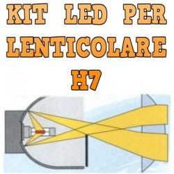 Kit LED Anabbaglianti Lenticolari H7