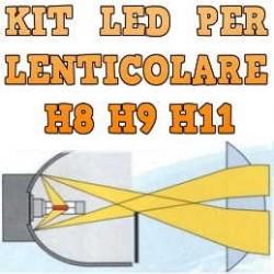 Kit LED Anabbaglianti Lenticolari H8 H9 H11