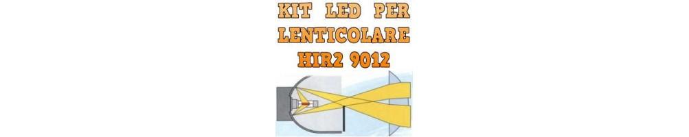 Kit LED anabbaglianti abbaglianti per Fari Lenticolari HIR2 9012