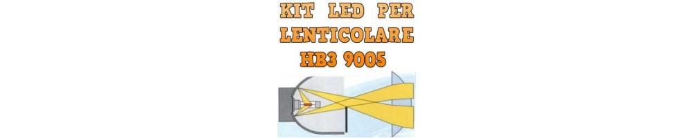 Kit LED anabbaglianti per Fari Lenticolari hb3 9005 nessuna ombra.
