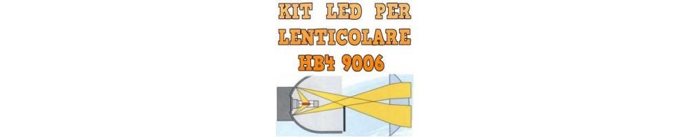 Kit LED anabbaglianti per Fari Lenticolari HB4 9006 mono led noombre.
