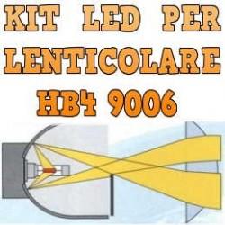 Kit LED Anabbaglianti Lenticolari HB4 9006