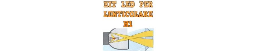 Kit LED anabbaglianti per Fari Lenticolari H1 mono led nessuna ombra.