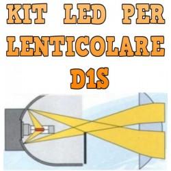 Kit LED Lenticolari D1S Anabbaglianti Abbaglianti