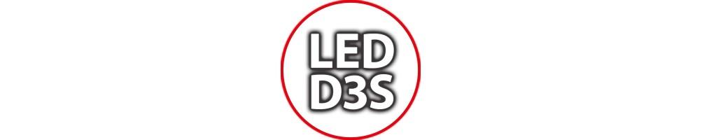 Kit Luci Led D3S per Auto Camion Lampade per Fari Bi-xenon Anabbagl...