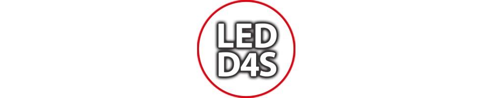 Kit Luci Led D4S per Auto Camion Lampade per Fari Bi-xenon Anabbagl...