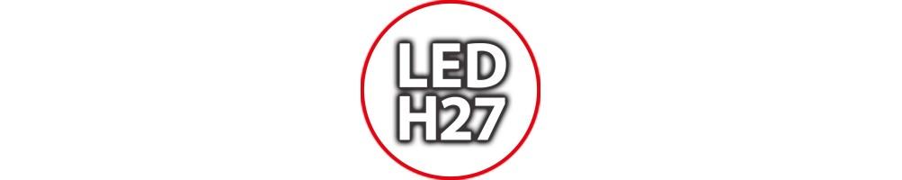 Kit Luci Led H27 per Auto Moto e Camion: Lampade per Fari Anabbagliant