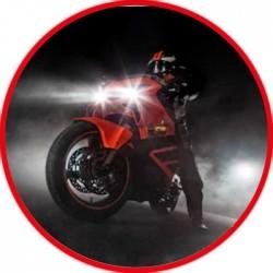 LED Moto Lampada Singola