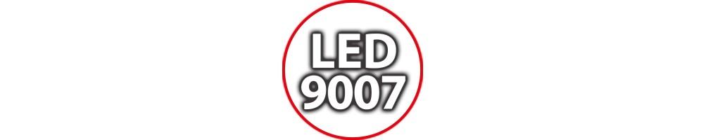 Kit Luci Led 9007 per Auto Moto e Camion: Lampade per Fari Anabbaglian