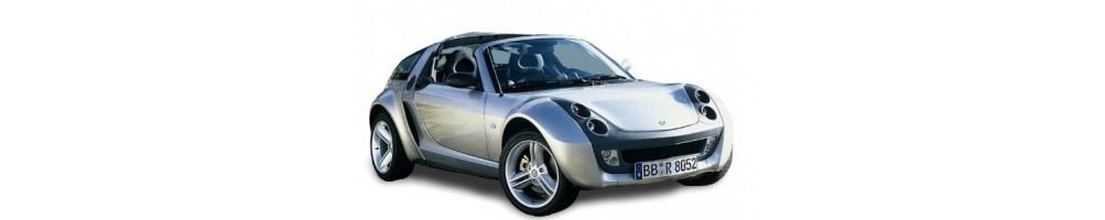 luci led e xenon per Smart Roadster.