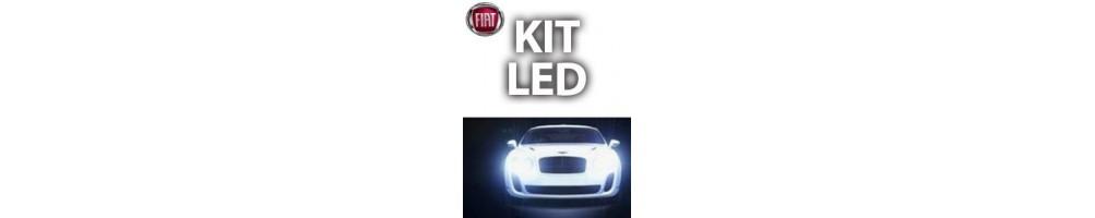 KIT LED FIAT 500X ANABBAGLIANTE DIURNO ABBAGLIANTE FENDINEB
