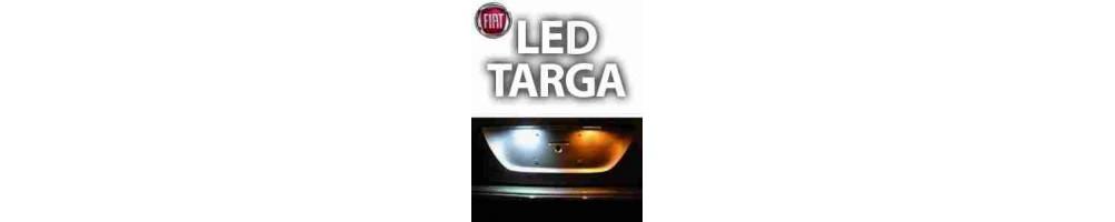 LUCI TARGA LED fiat 500x plafoniera targa LAMPADE placca completa led